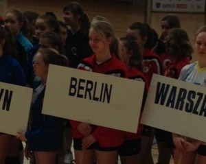 U14: Erstmals international